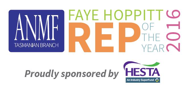 Faye Hoppitt Rep of the Year 2016